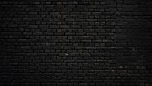 Texture Of A Perfect Black Bri...