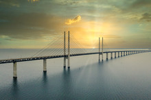 The Oresund Bridge Between Cop...