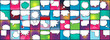 Creative vector illustration of comic banner, pop art speech bubble, cartoon background. Retro comic style. Art design popart blank layout template. Abstract concept empty speech banner element.
