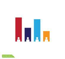 Exit Polling Icon Vector Logo ...
