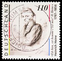 Postage Stamp Printed In Germa...