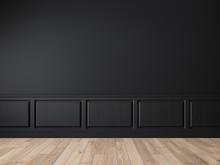 Modern Classic Black Empty Int...