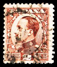 Postage Stamp Printed In Spain...