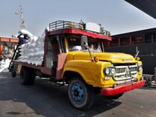 Ten Wheel Truck Loading Sack G...