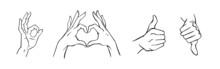 Hands In Different Interpretat...