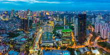 Aerial View Of Jakarta Central...