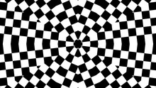 Blaxk And White Of Kaleidoscop...