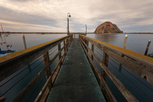 View From Morro Bay In Califor...