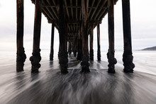 View Under The Pier From Avila...