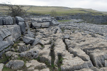 Limestone Causeway At The Top Of Malham Cove, Malhamdale, Yorkshire Dales