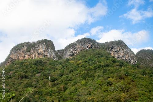 Fotografering Amazing mogote in the Vinales Valley in the province of Pinar del Rio, Cuba