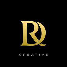 Rd Or Dr Logo Design Vector Icon