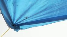 Blue Tarpaulin Tarp Shade Roof...