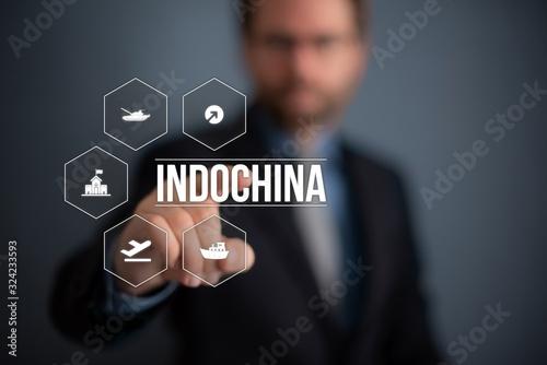 Indochina Fototapete