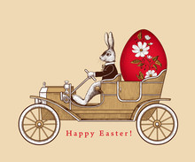 .Easter Holiday Card. .Easter ...
