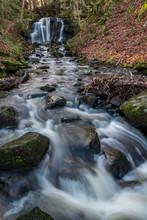 Wharnley Burn Waterfall, Count...