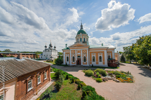 Ortodox Cathedral of the Beheading of John the Baptist in Zaraisk Kremlin Fototapet