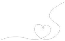 Heart Background Design Vector...