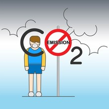 Stop CO2 Emission Reducing Air...