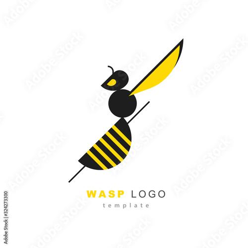 Valokuva Wasp logo template