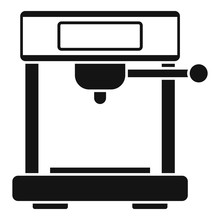 Vending Coffee Machine Icon. S...