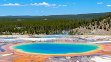 A View Of The Grand Prismatic ...