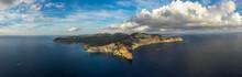 Aerial View Of Ibiza Island An...