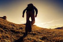 Unrecognized Traveler Hiker Wa...
