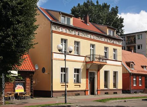 View of Nowy Dwor Gdanski. Poland - fototapety na wymiar