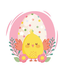 Happy Easter Little Chicken Do...