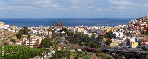 Espectaculares vistas de la catedral Santa Ana en Las Palmas de Gran Canaria