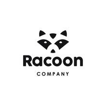 Raccoon Logo Icon In Trendy Mi...