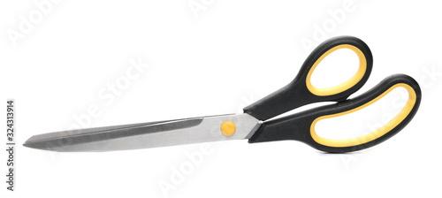 New scissors isolated on white background Fototapeta