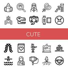 Cute Icon Set