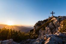 """Summit Cross At """"Hochlantsch"""" ..."""