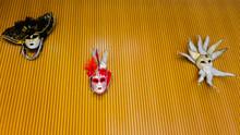 Venezianische Masken An Einer ...