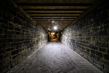 Gallery, Tunnel, Infinite Symmetric, Square, Mysterious