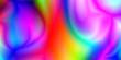 canvas print picture - curvy, rich, spectrum color gradient wallpaper
