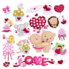Animals In Love On Valentine's Day