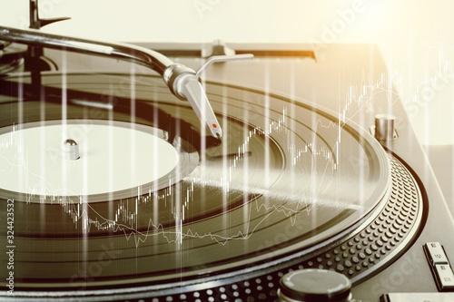 Photo Analog music.