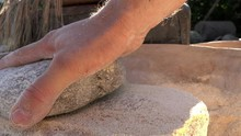 The Ancient Quern Stone Hand M...