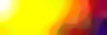 Blurred Iridescent Horizontal ...