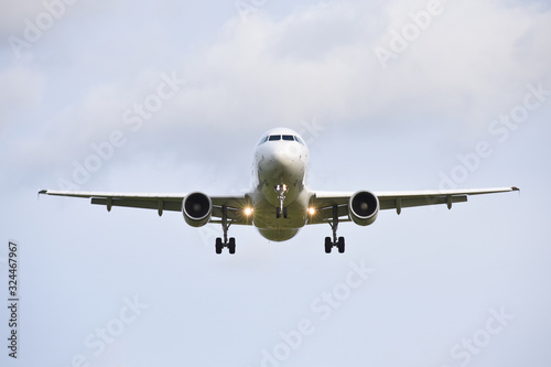 Photo avion aviation survol vol atterrissage