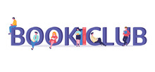 Vector Logo Concept Of A Book ...