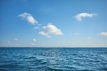 Sky Over The Ocean On A Sunny ...