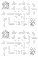 Easy Cat Maze - Learning Numbe...