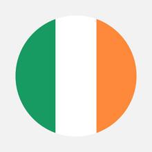Republic Of Ireland Flag Circle