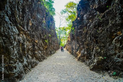 Fotografia, Obraz Hellfire pass, Kanchanaburi, Thailand