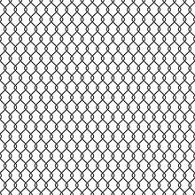 Black Line Chainlink Seamless ...