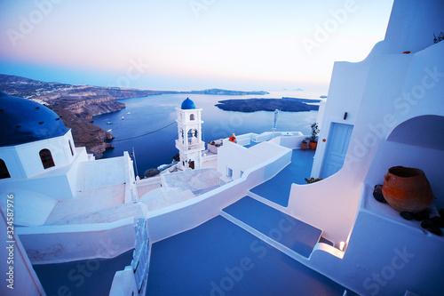 Fototapeta Santorini view obraz